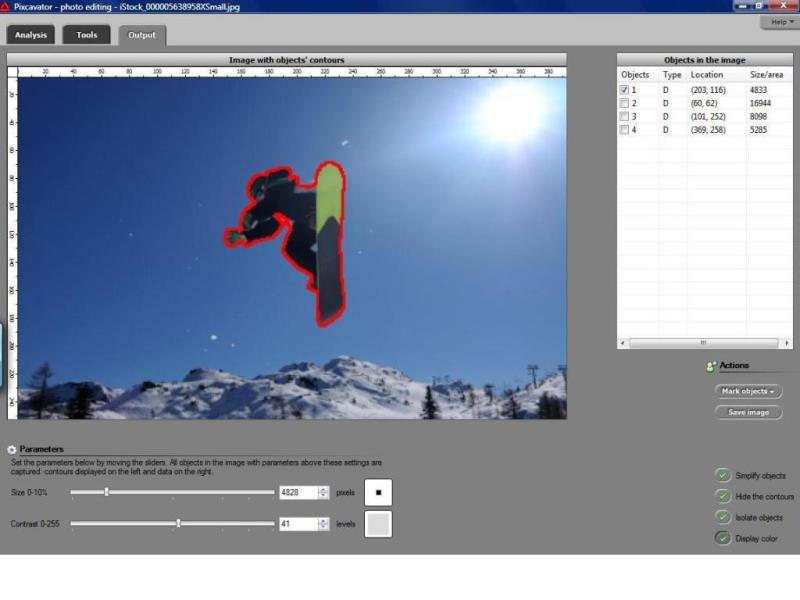 Pixcavator Image Analysis Software 2.3